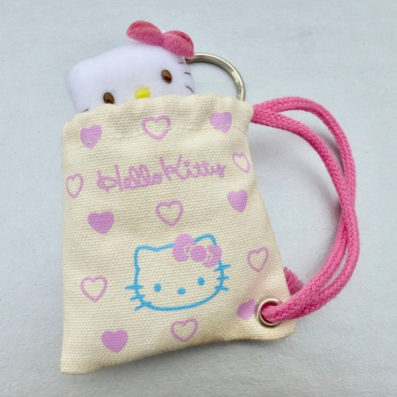 76339cf80 Hello Kitty Bags   Small Doll In A Bag Key Ring Holder   Poshmark